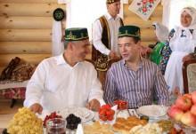 Дмитрий Медведев на Сабантуе в Казани