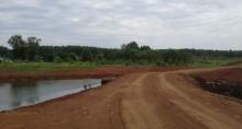 """Закончено строительство дорог, пруда и электрических сетей в коттеджном поселке """"Грин парк"""""""