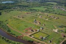 Новые фотографии всех поселков с вертолета